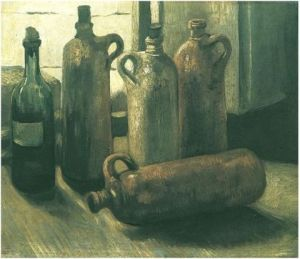 Nature morte avec quatre cruches (Van Gogh, 1884)