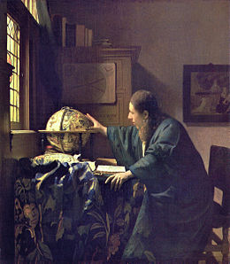 L'Astronome (Vermeer, 1668)