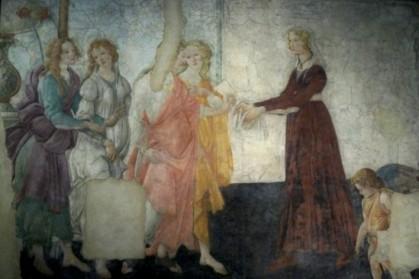 Sandro Boticelli, Vénus et les trois Grâces