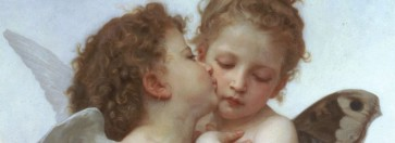 Amour et Psyché (W.-A. Bouguereau, 1890)