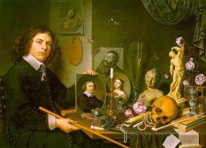 Autoportrait aux symboles de vanité (David Bailly, 1651)