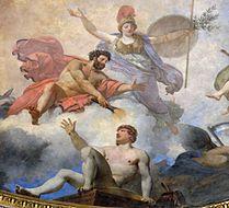 L'Homme formé par Prométhée et animé par Minerve (J.-S. Berthélémy, 1802)
