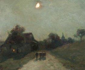 Tableau de François Cachoud (1866-1943)