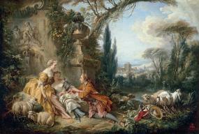 Les-charmes de la vie champêtre (Boucher, 1735)