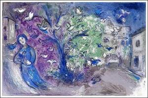 La Chasse aux oiseaux (Chagall, 1961)