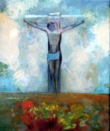 Le Christ dans la croix (Odilon Redon, 1910)