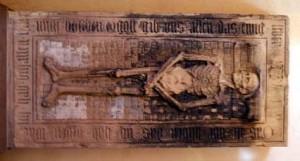 Plate-tombe de Nicolas Roeder (Strasbourg)