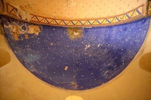 Église de Saint-Pierre (Brocas, 40420) : voûte étoilée