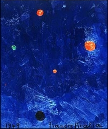 Bleu (Francis Picabia, 1949)