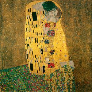 Le baiser (Gustav Klimt, 1906-1908)