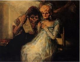 Les Vieilles (Goya, 1808)