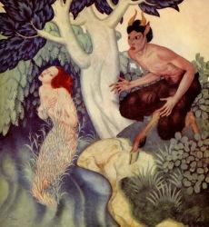 Pan et Syrinx (Edmund Dulac, 1935)