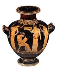 Sappho lisant 3 (Grèce, vers 450 av. J.-C.)