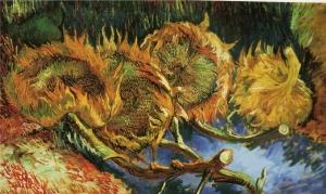 Fleurs de tournesols fanées (Van Gogh, 1887)