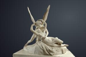 Psyché ranimée par le baiser de l'Amour (Antonio Canova, 1777)