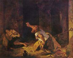 le-prisonnier-de-chillon-eugene-delacroix-1834