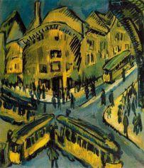 Nollendorfplatz (Ernst Ludwig Kirchner, 1912)