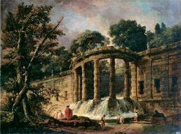 une-cascade-tombant-entre-deux-terrasses-au-milieu-dune-colonnade-hubert-robert-1767